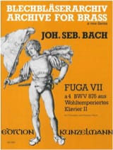 BACH - Fuga VII to 4 BWV 876 - Sheet Music - di-arezzo.com