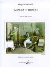Hugo Reinhart - Adagio Et Rondo - Partition - di-arezzo.fr
