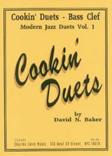David N. Baker - Cookin' Duets Modern Jazz Duets Volume 1 - Partition - di-arezzo.fr