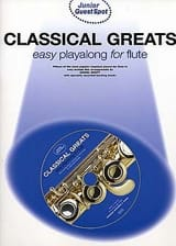 Guest Spot Junior - Classical Greats Easy Playalong Junior For Flute laflutedepan.com