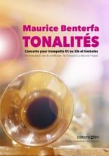 Tonalités (Concerto) - Maurice Benterfa - Partition - laflutedepan.com