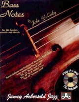 METHODE AEBERSOLD - Bass Notes - Sheet Music - di-arezzo.co.uk