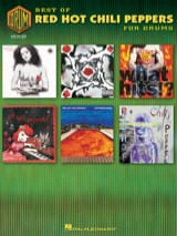 Red Hot Chili Peppers - Best Of For Drums - Partition - di-arezzo.fr