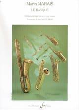 Le Basque Marin Marais Partition Saxophone - laflutedepan.com