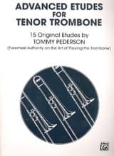 Tommy Pederson - Advanced Etudes For Tenor Trombone - Partition - di-arezzo.fr