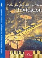 Invitation Volume 1 Partition Multi Percussions - laflutedepan.com