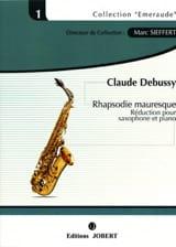 Rapsodie Mauresque Claude Debussy Partition laflutedepan.com