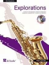 Explorations Allen Vizzutti Partition Saxophone - laflutedepan