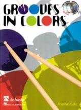 Grooves In Colors Thomas Calis Partition Batterie - laflutedepan.com
