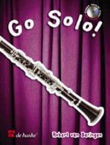 Go Solo! Robert Van Beringen Partition Clarinette - laflutedepan.com