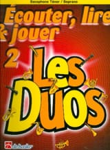 Ecouter Lire et Jouer - Les duos Volume 2 - 2 Saxophones laflutedepan.com