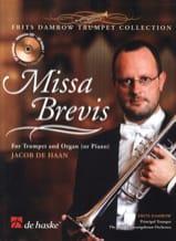 Missa Brevis Jacob De Haan Partition Trompette - laflutedepan.com