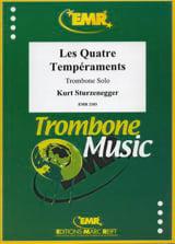 Kurt Sturzenegger - The Four Temperaments - Sheet Music - di-arezzo.com