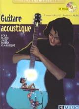 Guitare acoustique Vaillot Thierry / Larbier Patrick laflutedepan.com