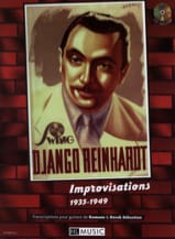 Django Reinhardt - Improvisations 1935-1949 - Sheet Music - di-arezzo.co.uk