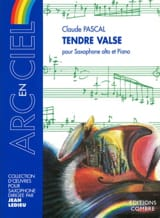 Tendre Valse - Claude Pascal - Partition - laflutedepan.com