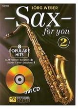 Sax For You Volume 2 Partition Saxophone - laflutedepan.com