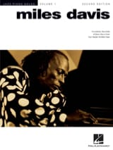 Miles Davis - Solos Jazz Piano - Miles Davis - Sheet Music - di-arezzo.co.uk