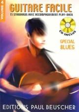 Guitare Facile Volume 4 - Spécial Blues Partition laflutedepan.com