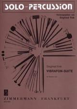 Vibrafon Suite Siegfried Fink Partition Vibraphone - laflutedepan.com