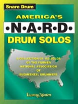 - America's N.A.R.D. Drum Solos - Partition - di-arezzo.fr