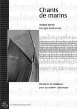 Chants de Marins Ondine Awen Benoît Partition laflutedepan.com