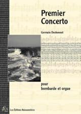 Germain Desbonnet - Premier Concerto - Partition - di-arezzo.fr
