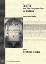 Germain Desbonnet - Suite Sur Des Airs Populaires de Bretagne - Partition - di-arezzo.fr