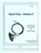 BACH - Bach Trios Volume 3 - Sheet Music - di-arezzo.com