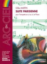 Suite Parisienne Gilles Martin Partition Trompette - laflutedepan.com