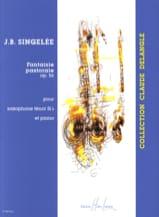 Jean-Baptiste Singelée - Fantaisie Pastorale Opus 56 - Partition - di-arezzo.fr