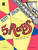 Scott Joplin - 5 Rags - Partition - di-arezzo.fr