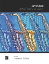 20 Modern Studies James Rae Partition Saxophone - laflutedepan.com