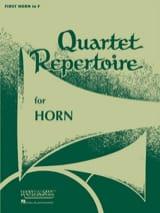 Quartet Repertoire Cor 1 - Partition - Cor - laflutedepan.com