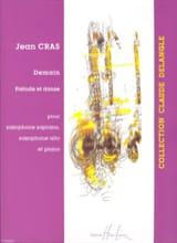 Demain / Prélude Et Danse Jean Cras Partition Saxophone - laflutedepan