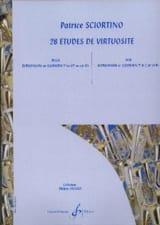Patrice Sciortino - 28 Etudes de Virtuosité - Partition - di-arezzo.fr