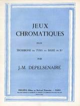 Jeux Chromatiques Jean-Marie Depelsenaire Partition laflutedepan