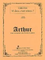 Jérôme Naulais - Arthur - Partition - di-arezzo.fr