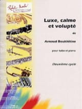 Arnaud Boukhitine - Luxe, Calme Et Volupté - Partition - di-arezzo.fr