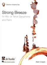 Strong breeze Alain Crepin Partition Saxophone - laflutedepan.com