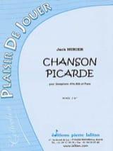 Chanson Picarde Jack Hurier Partition Saxophone - laflutedepan