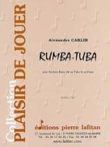 Rumba-tuba Alexandre Carlin Partition Tuba - laflutedepan.com