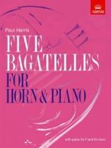 Five Bagatelles Paul Harris Partition Cor - laflutedepan.com