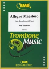 Jan Koetsier - Allegro Maestoso - Partition - di-arezzo.fr