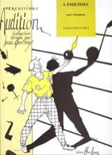 6 Esquisses - Gabriel Bouchet - Partition - laflutedepan.com
