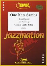 One Note Samba Antonio Carlos Jobim Partition laflutedepan