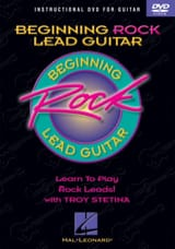 Troy Stetina - DVD - Beginning Rock Lead Guitar - Partition - di-arezzo.fr