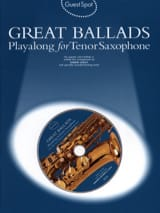 Guest Spot - Great Ballads Playalong For Tenor Saxophone - laflutedepan.com