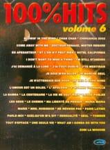 100% hits volume 6 Partition Chansons françaises - laflutedepan.com