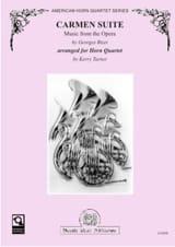 Georges Bizet - Carmen Suite - Partition - di-arezzo.fr